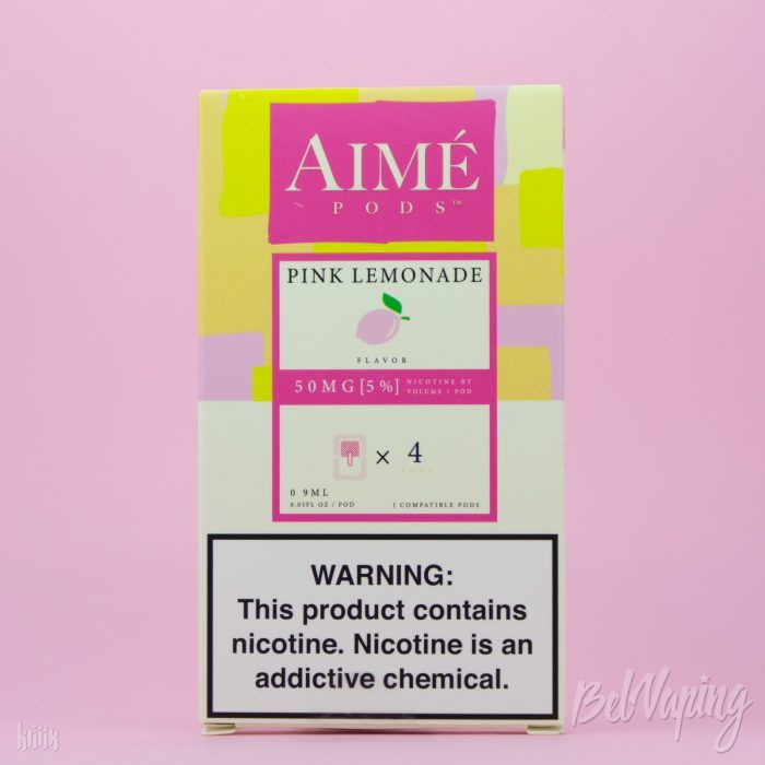 Картриджи AIME PODS - PINK LEMONADE