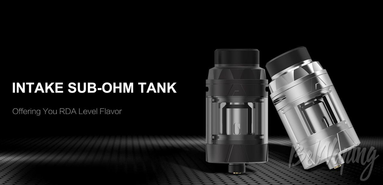Augvape Intake Sub-Ohm Tank. Первый взгляд