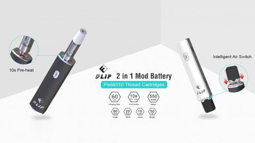 OUMIER Flip Battery Mod. Первый взгляд