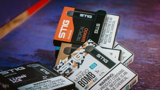 Обзор одноразовой электронной сигареты STIG от VGOD