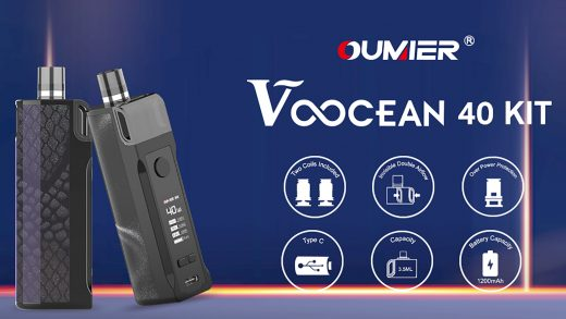 Oumier Voocean 40 Kit. Первый взгляд
