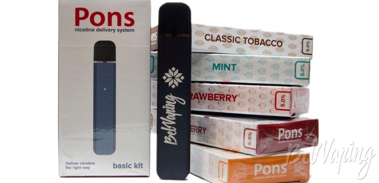 Обзор системы доставки никотина PONS