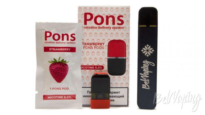PONS - вкус STRAWBERRY