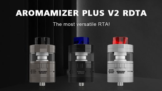 Steam Crave Aromamizer Plus V2 RDTA. Первый взгляд