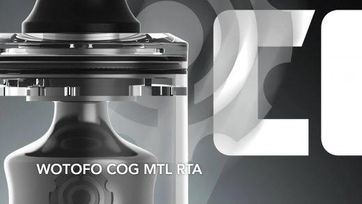 Wotofo COG MTL RTA. Первый взгляд
