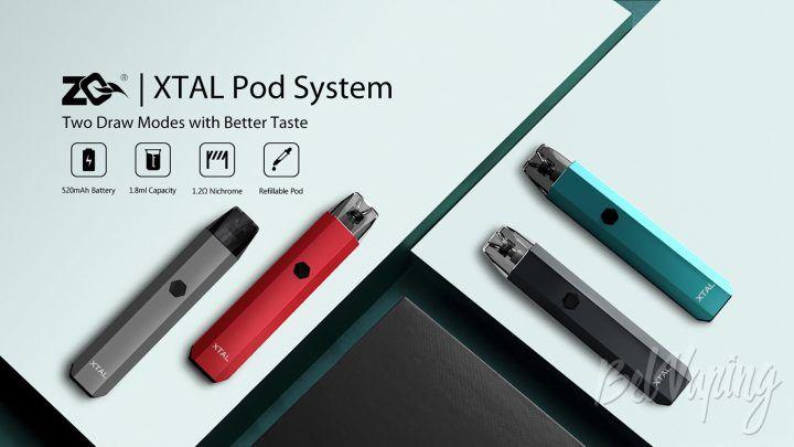 ZQ Xtal Pod. Первый взгляд