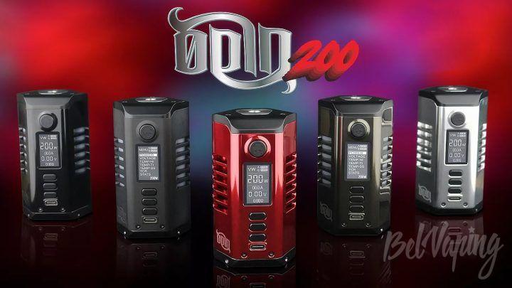 Dovpo Odin 200 Mod. Первый взгляд