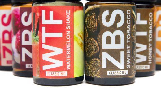 Обзор крепких жидкостей WTF и ZBS от ChelLab