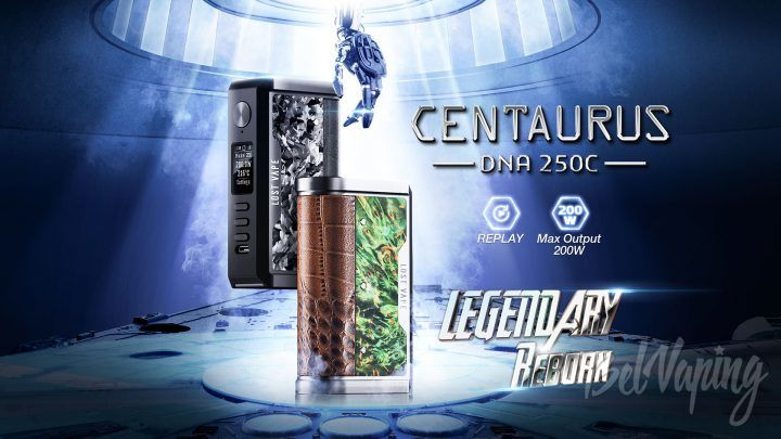 Lost Vape Centaurus DNA 250C. Первый взгляд
