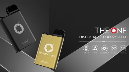 MOK Tech The One Disposable Pod. Первый взгляд