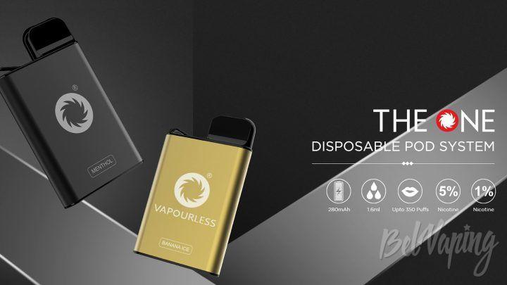 MOK Tech The One Disposable Pod. Первый взгляд