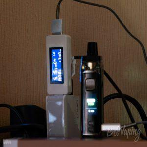 Емкость встроенного аккумулятора Vaporesso Target PM80