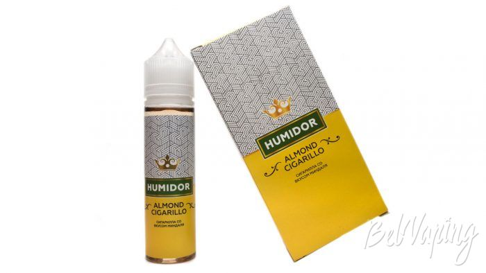Жидкость HUMIDOR от Red Smokers - вкус ALMOND CIGARILLO