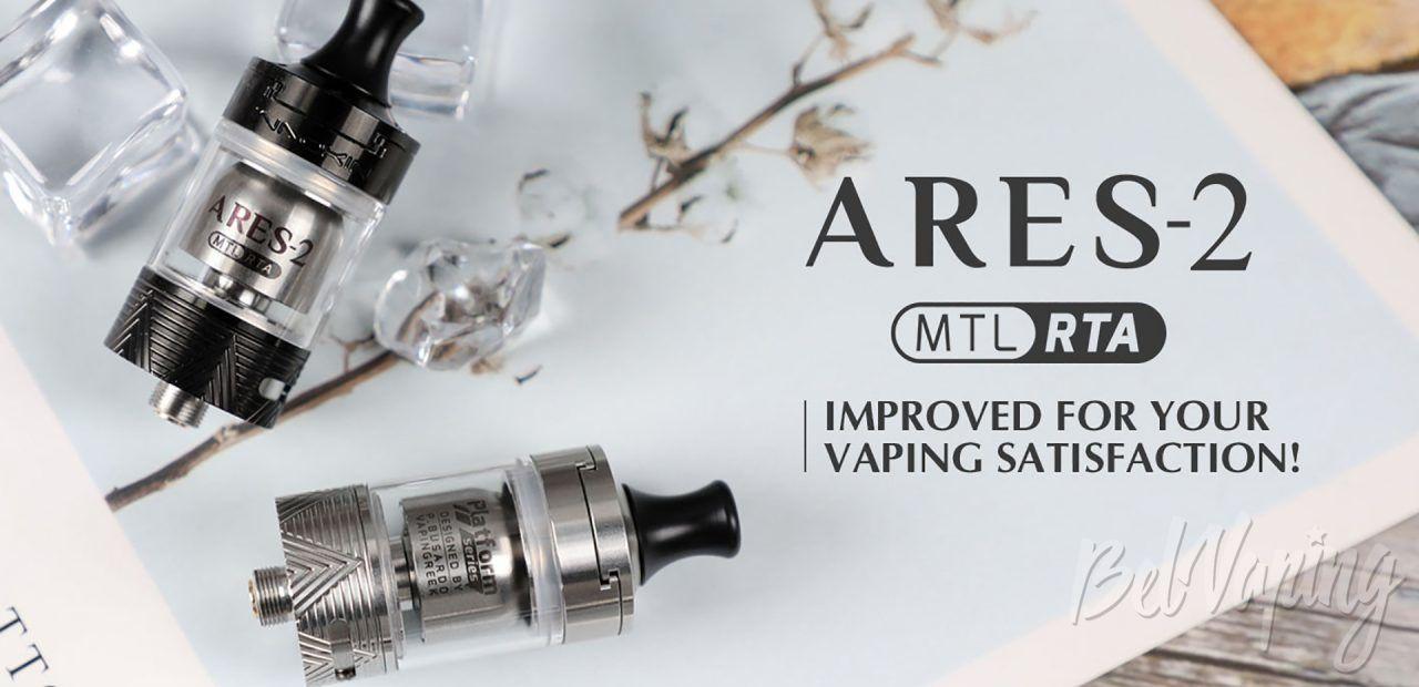 Innokin Ares 2 MTL RTA. Первый взгляд