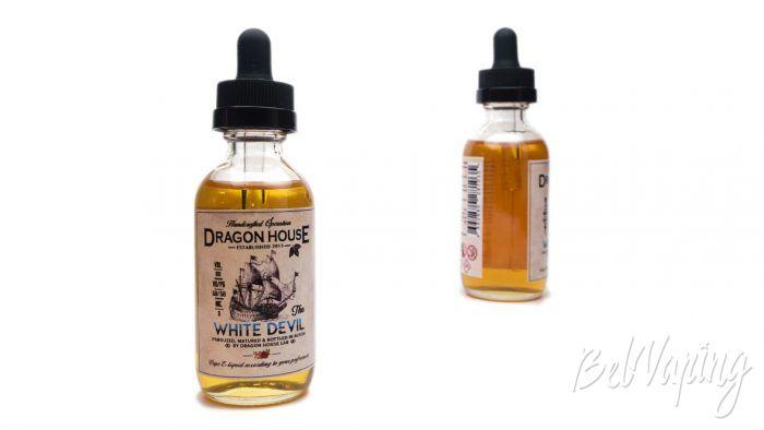 Крафтовые табачные жидкости от DRAGON HOUSE - вкус WHITE DEVIL