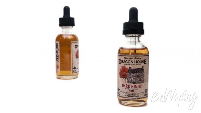Крафтовые табачные жидкости от DRAGON HOUSE - вкус DARK NIGHT