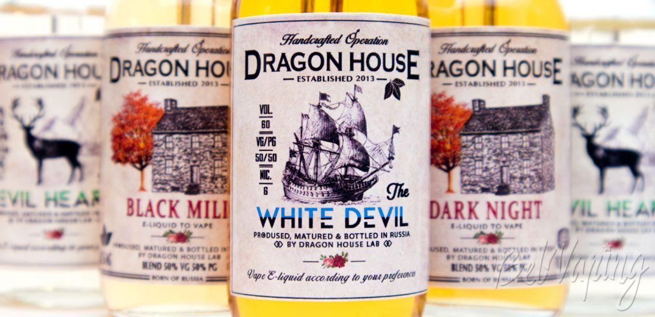 Обзор крафтовых табачных жидкостей от DRAGON HOUSE