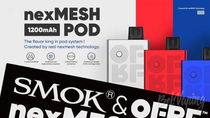SMOK & OFRF nexMesh Pod. Первый взгляд