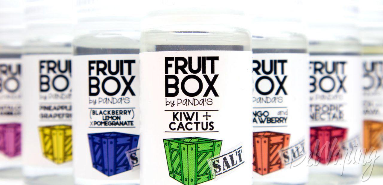 Обзор солевых жидкостей FRUIT BOX от Panda's Juise