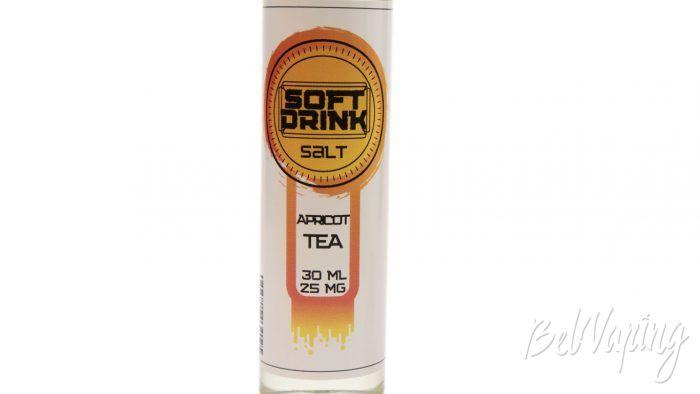 Солевые жидкости SOFT DRINK - вкус APRICOT TEA