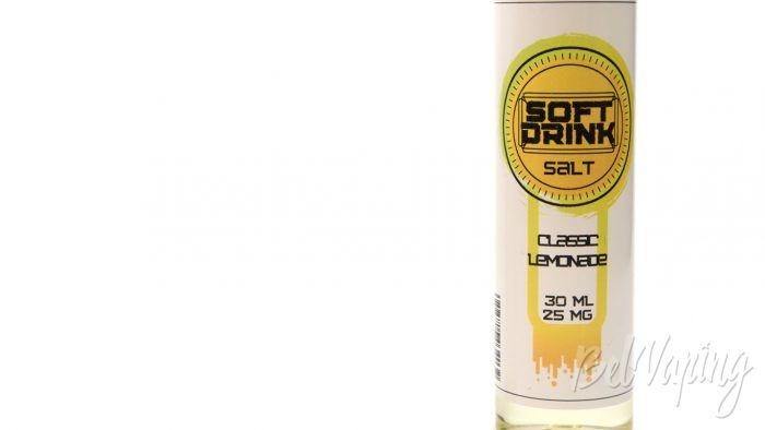 Солевые жидкости SOFT DRINK - вкус CLASSIC LEMONADE