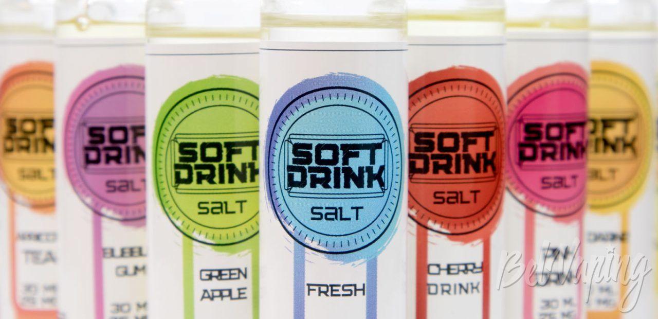 Обзор солевых жидкостей SOFT DRINK от VB Juice