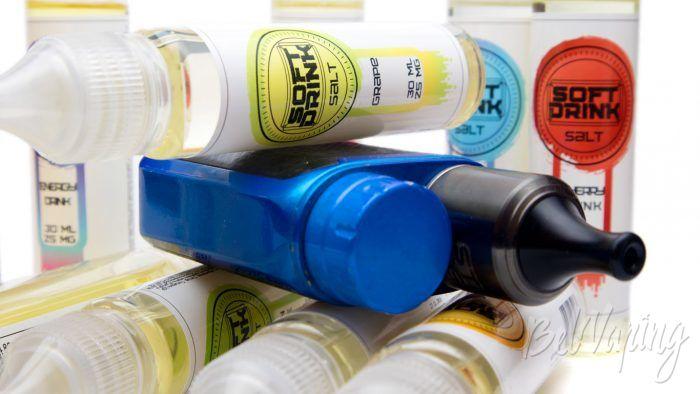 Солевые жидкости SOFT DRINK - тестирование и описание вкусов
