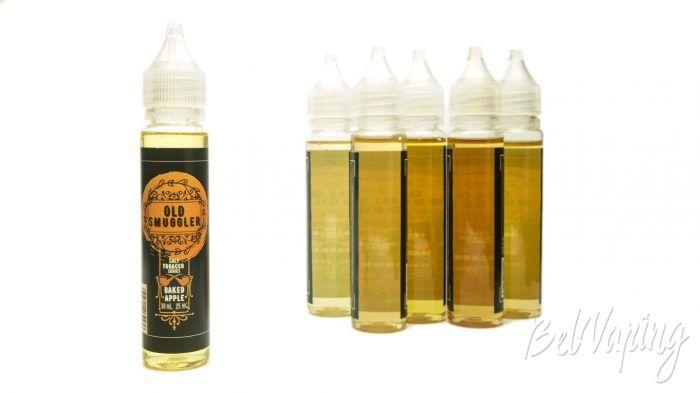 Табачные солевые жидкости OLD SMUGGLER - вкус BAKED APPLE
