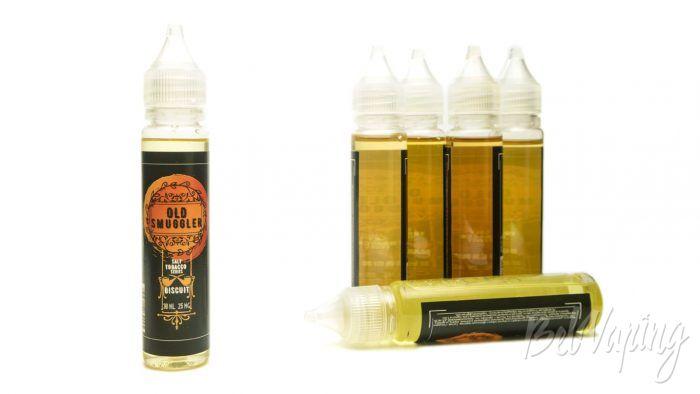 Табачные солевые жидкости OLD SMUGGLER - вкус BISCUIT