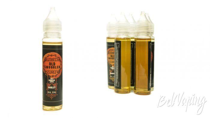 Табачные солевые жидкости OLD SMUGGLER - вкус BURLEY