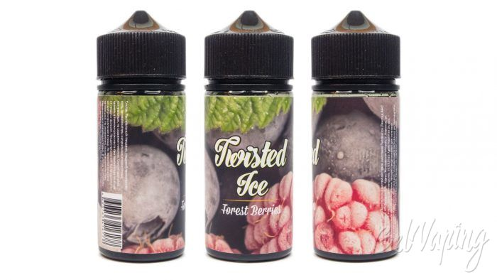 Жидкости TWISTED ICE - вкус FOREST BERRIES