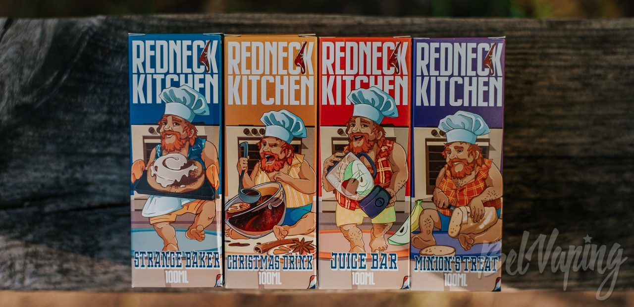 Обзор жидкости Redneck Kitchen от Amnesia E-Liquid