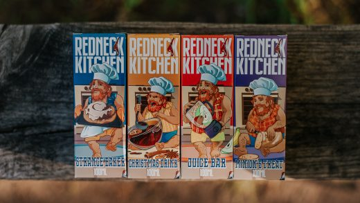 Обзор жидкости Redneck Kitchen от Amnesia E-Liquid