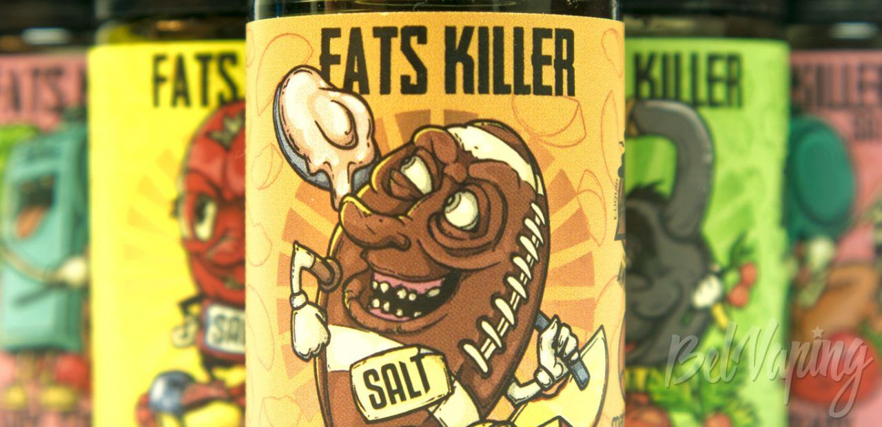 Обзор солевой жидкости FATS KILLER от Amnesia E-liquid