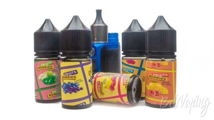 Солевые жидкости FRUITS & BERRIES - тестирование и описание вкусов