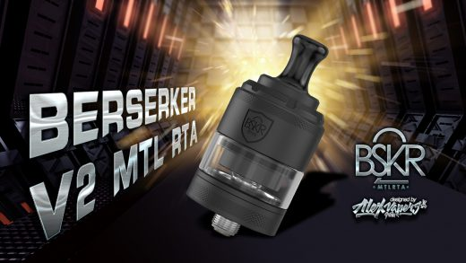 Vandy Vape Berserker V2 MTL RTA. Первый взгляд