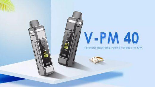 Vapor Storm V-PM 40 Kit. Первый взгляд