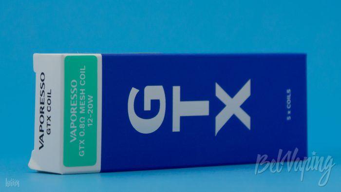 Упаковка испарителей GTX 0.8Ω MESH COIL (12–20W)