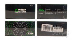 Wotofo COG MTL RTA - информация на упаковке