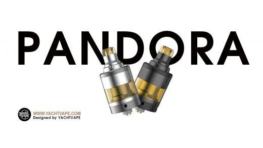 Yachtvape Pandora MTL RTA. Первый взгляд