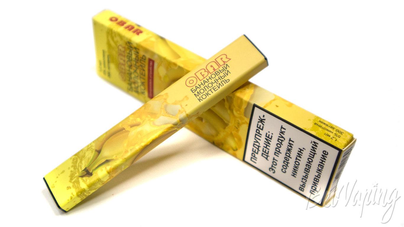 электронная сигарета obar одноразовая отзывы