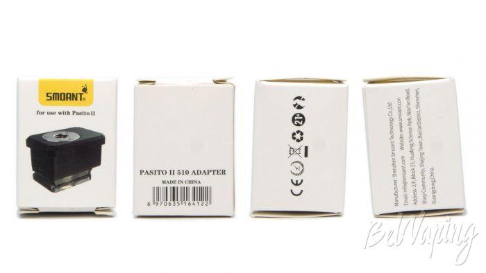 Smoant PASITO 2 510 ADAPTER - упаковка