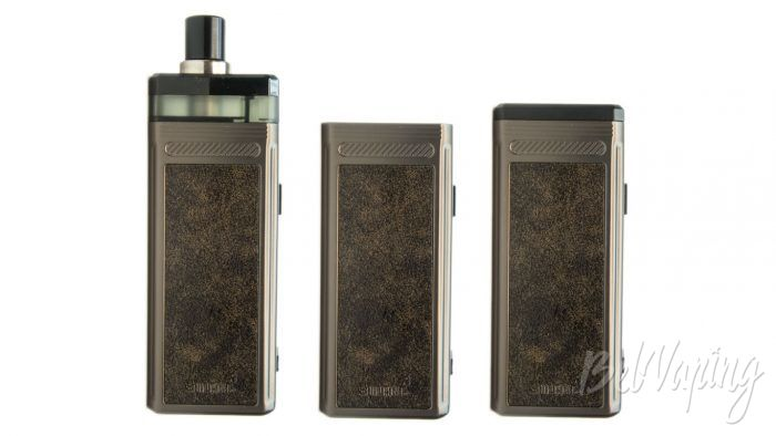 Smoant PASITO 2 510 - сравнение размеров устройства